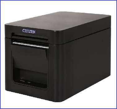 CT-S251 Printer. No interface, Pure White case
